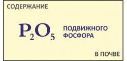 Анализ почвы на Фосфор P2O5
