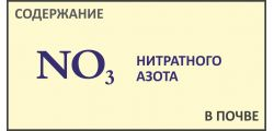 Анализ почвы на нитратный азот NO3